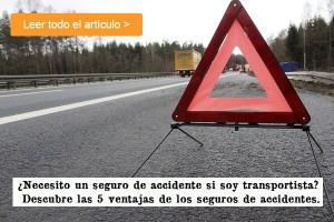 5 ventajas de los seguros de accidentes para transportistas